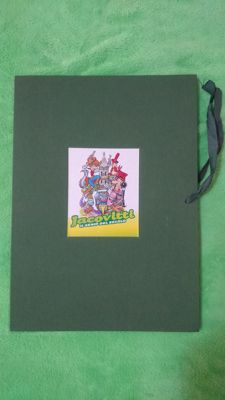"Jacovitti, Benito - portfolio ""Il genio del secolo"", with 8x lithographs (2010)"