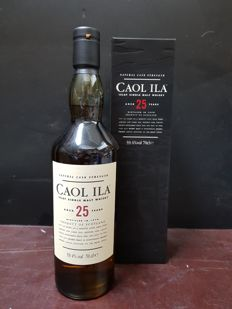 Caol ila 25 years old - natural cask strength