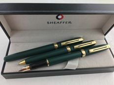 3 piece Sheaffer Prelude set Matte Green