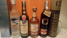 Great lot of liquors, beaar водка bepe3ka 75cl  40% Authentic import. Rob cuban legendary elixir de cuba 7 years, 70cl  34% Rum venezolano ocumare 12 years 70cl  40% Authentic cachaça from brazil importation Nega fulo.75cl  38%