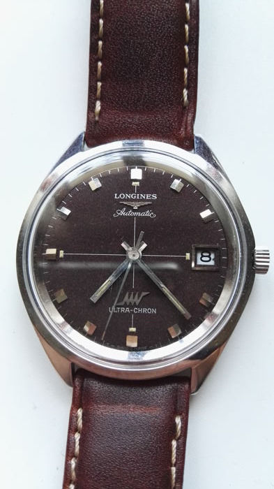 Longines – Ultra-Chron – Men's wristwatch – 1970-1979.