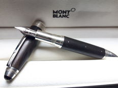 Montblanc Masters for Meisterstück L' Aubrac Special Edition fountain pen  - Wood and Sterling silver