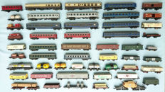 Lima/Jouef/Piko/Triang H0 - 52 wagons