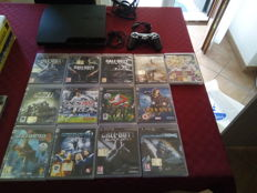 PlayStation 3  -160 gb -with  13 games