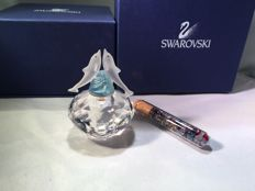 Swarovski - Flask with Dolphins - Rose.