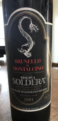 2004 Case Basse di Gianfranco Soldera Toscana IGP - Brunello Riserva - 1 bottle (75cl)