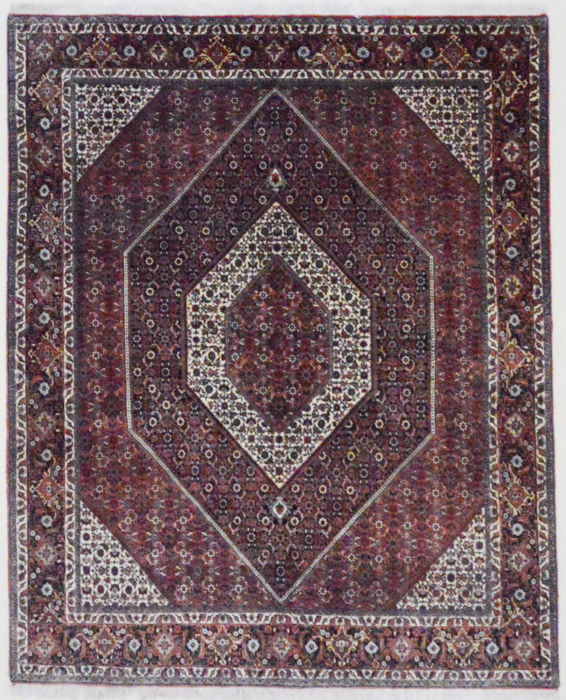 Persian carpet, extremely strong Bidjar (Tekab/Bukan), 250 x 200 cm