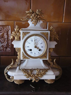 French mantelpiece clock - Japy Freres - approx. 1875