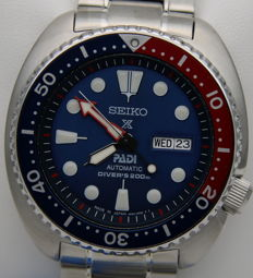 """Seiko - """"Turtle"""" Automatic Diver's 200 m - """"Special Edition"""" PADI - SRPA21J1 - Made in Japan – Men's"""