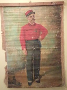 Artist from the 19th century - Soldier figure