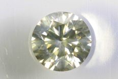 Yellow Diamond 0.39 ct - No Reserve Price