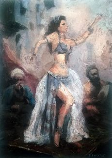 Zoran Zivotic (1962- ) - Oriental dancer