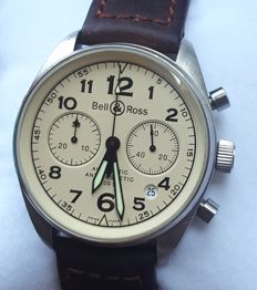 Bell & Ross Pilots Chronograph Vintage BR126-A