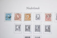 The Netherlands 1852/1942 - Collection in a DAVO album