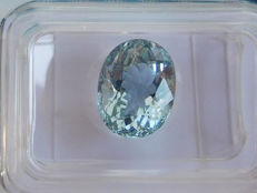 Aquamarine - Blue - 2.55 ct