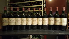 1972 Chateau Beychevelle, Grand Vin Saint Julien - 11 bottles (75cl)
