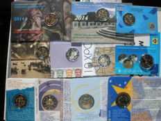 Europe - 11x commemorative coins from Greece (7 coins) and Slovakia (4 coins)