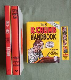 Collection Of 3 x Books By Robert Crumb - (2001/2005)
