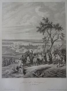 Nijmegen; o.a. Valegio / Hogenberg / Merian - 3 copper engravings and 1 steel engraving - 17th/18th century