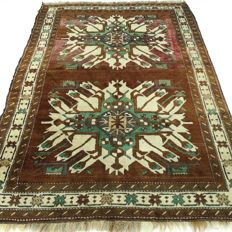 "Kazakh – 200 x 141 cm – ""Turkish carpet – 100% Wool – In magnificent, nearly unused condition""."