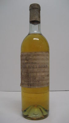 1970 Château Laville Haut Brion blanc, Grand Cru Classé - one bottle