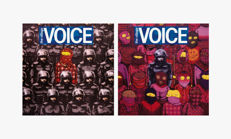 Banksy and Os Gemeos- Village Voice