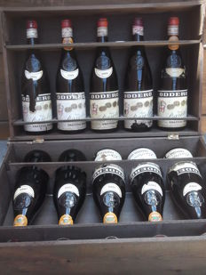 7x 1969 Barolo Oddero & 3x 1969 Barbareso Oddero - Total of 10 bottles