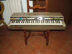 Gem Sprinter 61 b keyboard from the 1960s/70s