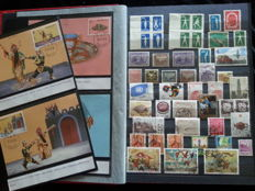 China 1894/1998 - collection in album + cards and a letter