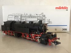 Märklin H0 - 3496 - Steam locomotive BR 96 of the DRG (lot 496)