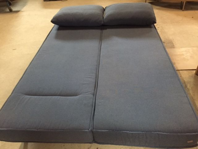 Rolf Benz Basix Sofa Bed In Bluish Grey Upholstery Catawiki