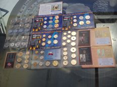 Europe – Lot of 7 euro coin sets