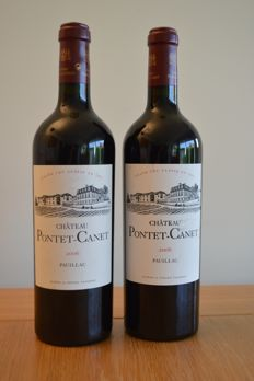 2006 Chateau Pontet-Canet, Pauillac, France - 2 bottles (75cl)