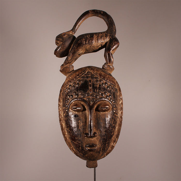 Beautiful Baule Mask - Ivory Coast