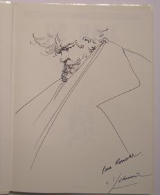Schuiten, François - Original commission drawing - De Rail - hc - (1990)