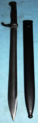 Bayonet Seitengewehr M 1898/05, so called Butcher bayonet Germany, in very good condition, original W.K.C. manufacture