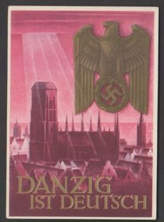 German Reich 1935/1944 - batch of 70 postcards and propaganda cards