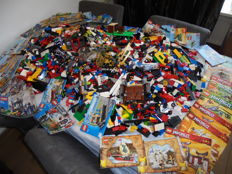 Assorted - 19.3 kilos mostly City and Ninjago.