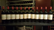 1979 Chateau Lynch Bages, Grand Cru Classé; x 5 & 1972 x 7 - 12 bottles (75cl) total