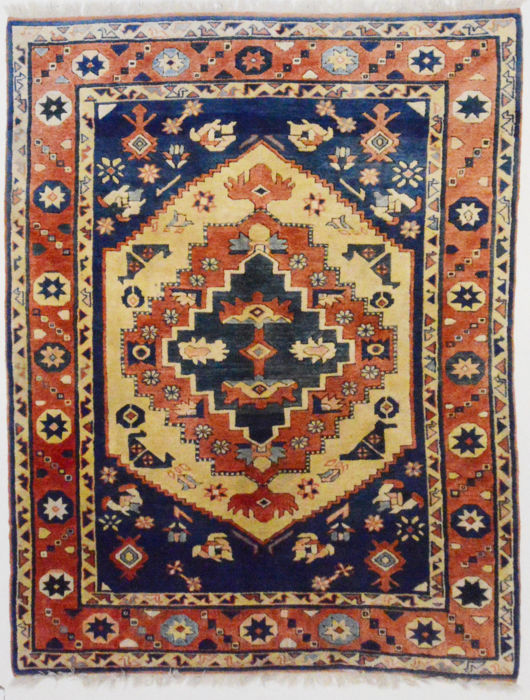 Turkish carpet, Kars, 250 x 190 cm.