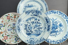 Large plates - China - Qing dynasty (1644-1912)