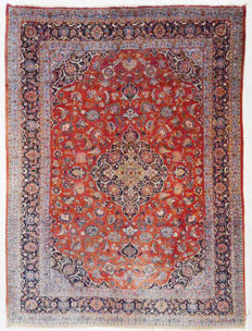 Persian carpet - Old Sarough - 375 x 290 cm