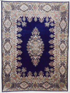 Persian carpet, Rare Kerman Lavar (Sherkat Farsh), 405 x 300 cm