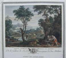 Jean Mathieu (1749-1815), after Domenichino (1581-1641) - Saint Jérome Dans Le Desert - 1787