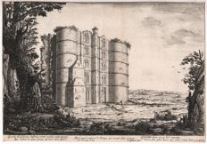 Claude Goyrand ( 1610 - 1662) - Ruins of the castle of Bicêtre - Early state - Circa 1640-1660