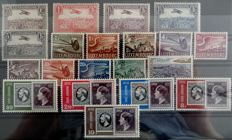 Luxembourg 1931-68 – Airmail and Occupation Series – Complete Yvert Airmail No. 2 to 21 and Occupation 1 to 41 –