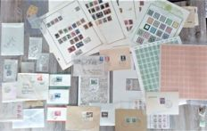 Germany 1872/1953 - Accumulation of stamps, blocks, stamp booklets and postage items