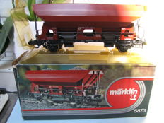Scale 1 - Märklin - 5873 - wagon with high sides, side unloading