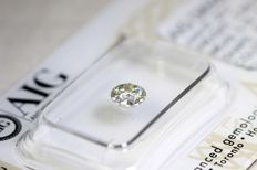 Brilliant cut diamond – 0.58 ct – H/I1 – No reserve price
