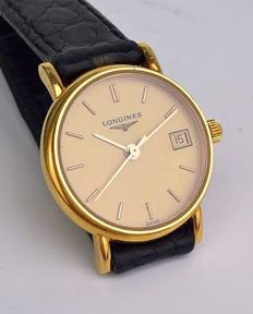 Longines — 18 kt gold case — Ladies' — 1970-1979